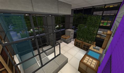 slanted valley interior design building wok minecraft project