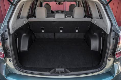 Subaru Forester Cargo Space Dimensions