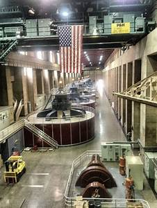 Inside The Hoover Dam On Our Tour