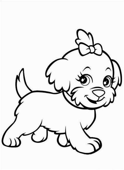 cute puppy coloring pages puppies puppy