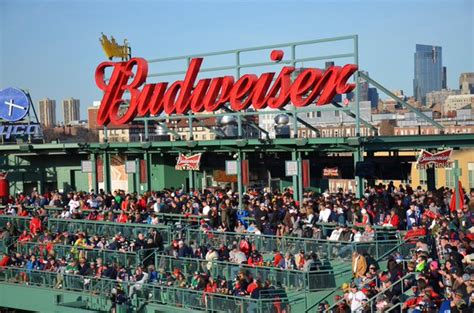 Budweiser Roof Deck Bar Stools by Fenway Park On Quot Join Us Postgame For The 2016