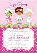 Spa Party Invitation DIY Print Your Own Matching By Purple Spa Girl Birthday Party Invitation Template Spa Day Clipart Clipart Suggest Cute Manicure Spa Birthday Party Invitation Zazzle