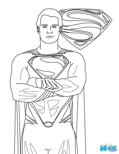 superman coloring pages hellokidscom