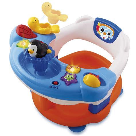 siege de bain pour bebe siège de bain interactif vtech jouets 1er âge jouets