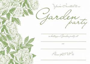 free invitation template freebie friday party With free printable garden wedding invitations