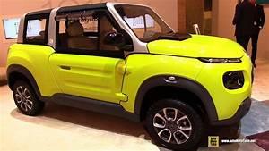 Citroën E Mehari : 2017 citroen e mehari electric vehicle exterior and interior walkaround 2017 geneva motor ~ Medecine-chirurgie-esthetiques.com Avis de Voitures