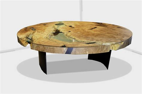 live edge dining room table river run coffee table live edge design inc canada