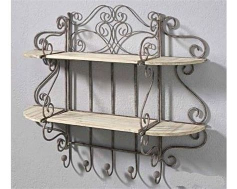 etagere murale fer forge 78 best etag 232 re et fer forg 233 antique j adore images on wrought iron crafts and home