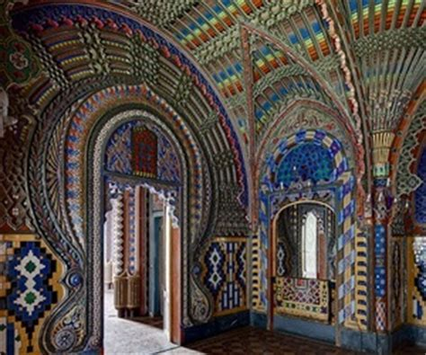 Peacock Room in Sammezzano Castle in Tuscany