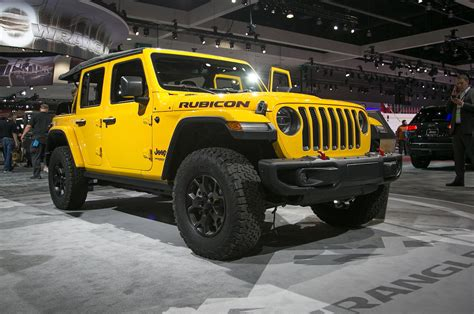 The 2018 Jeep Wrangler Jl's Turbofour Will Reportedly