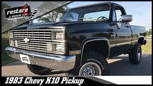 1983 Chevy K10 Shortbox 4x4 YouTube