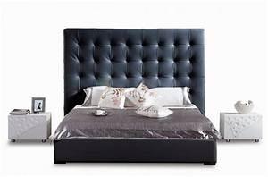 Lit En Cuir : lit adulte en cuir de luxe mobilier priv ~ Teatrodelosmanantiales.com Idées de Décoration