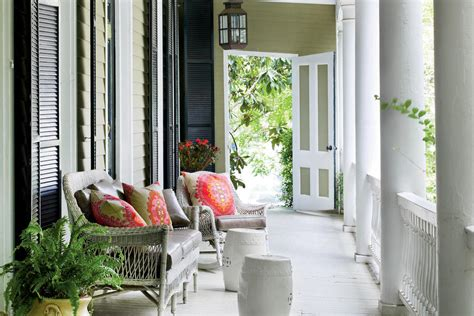 Southern Style Porches by Porch And Patio Design Inspiration Southern Living