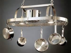kitchen island hanging pot racks a pot rack in its proper place hgtv