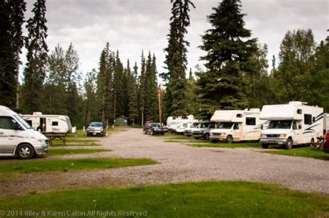 Postcard From Riverview RV Park & QuickStop in North Pole