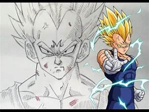 HOW TO DRAW MAJIN VEGETA! - YouTube
