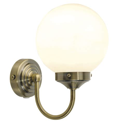 barclay ip44 bathroom wall light in polished chrome with