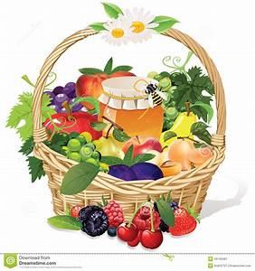 Panier A Fruit : corbeille de fruits illustration stock image 43140481 ~ Teatrodelosmanantiales.com Idées de Décoration