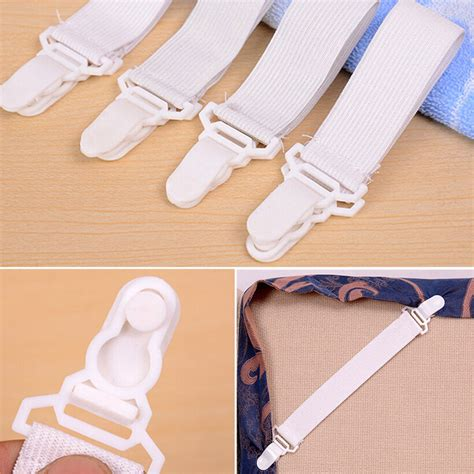 bed sheet mattress fasteners elastic grippers blankets
