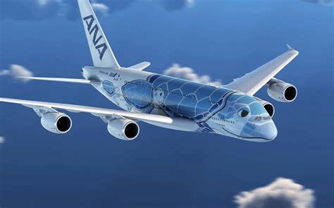 ANA A380 livery symbolising good luck and prosperity in ...