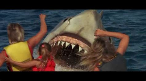 Banana Boat Ride Shark Attack by Review Jaws The 1987 A Journey Into