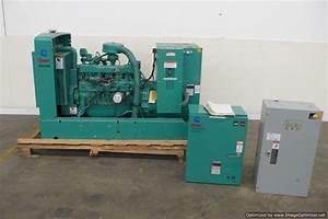 Onan 35kw Natural Gas Propane 3 Ph Or 1 Ph Generator  133