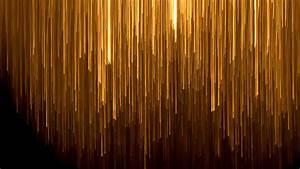 Golden, Lines, In, Black, Background, Abstract, 4k, Wallpaper