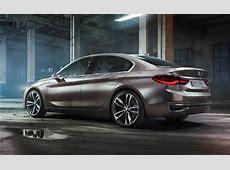 BMW Concept Compact Sedan The FrontDrive Bimmer Sedan is