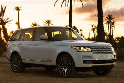 top luxury suvs  land rover range rover  midsize suv