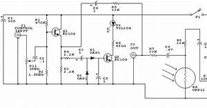 Bc109 Automatic Audio Fader Circuit With Transistor Explanation