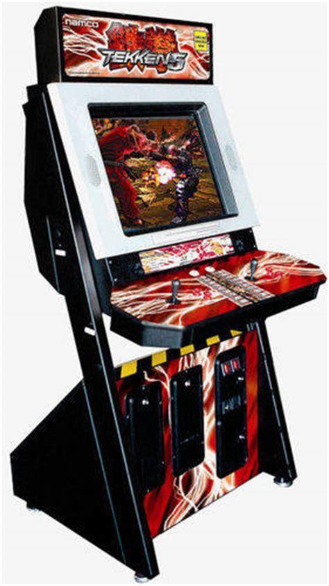tekken 3 arcade cabinet dedicated namco fighters klov vaps coin op videogame pinball slot machine and em machine