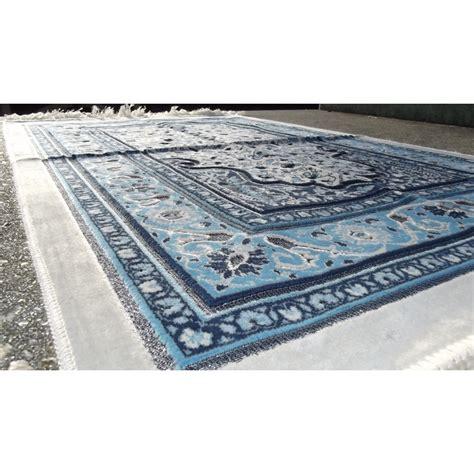 tapis de priere persan motifs arbre de vie couleur