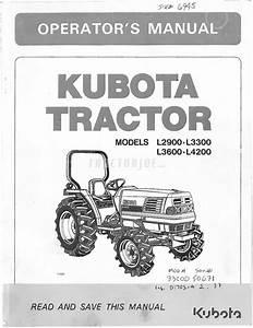 C322 Kubota L4200 Wiring Diagram