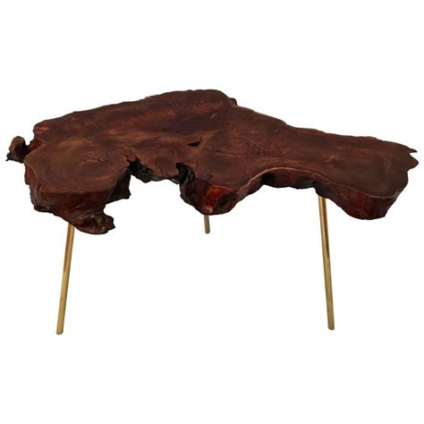 free form wood coffee tables freeform wood slab coffee table in redwood and solid