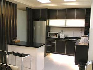 small modern kitchen design photo gallery black interior With modern small kitchen design photos