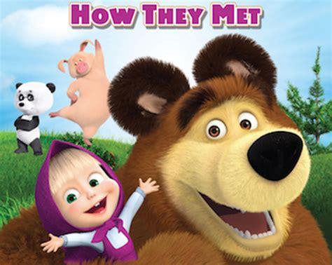 Win Masha And The Bear On Dvd