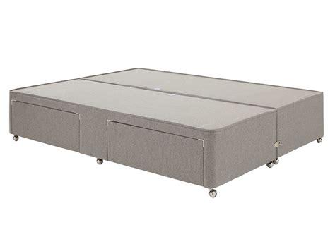 gray l base luxury divan base ash dreams
