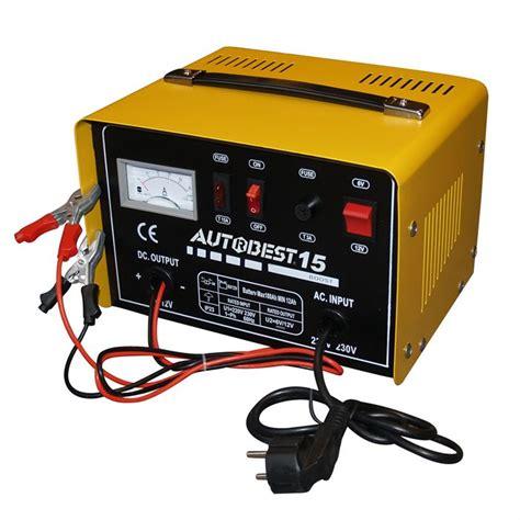autobest chargeur de batterie gzl15 110w 6a 12 24v achat