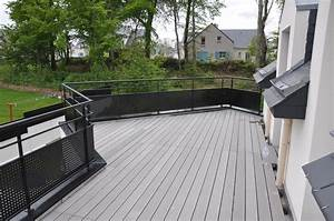garde corps terrasse exterieure g2h29 With garde corps terrasse prix