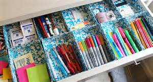 lovely on a budget diy duct tape organizers
