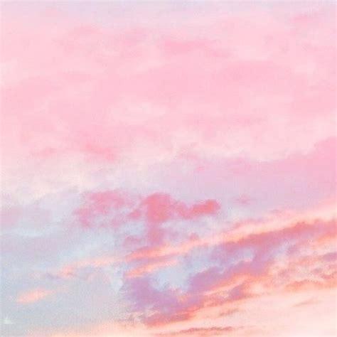 light pink clouds Tumblr