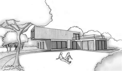 plan de maison 4 chambres plan maison d 39 architecte contemporaine ooreka