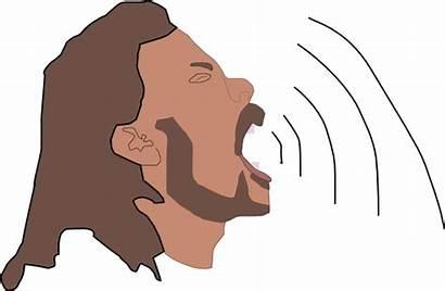 Clip Waves Singer Clipart Sing Audio Svg