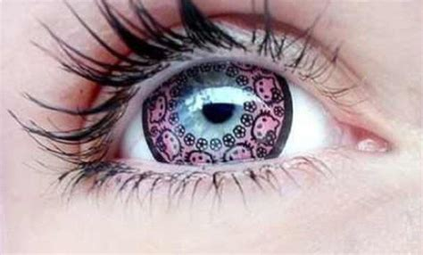 Halloween Contacts No Prescription by Hello Kitty Color Contact Lenses Give You Cute Cat Eyes
