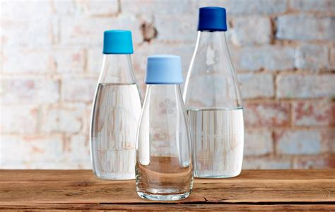 Promotional Kolding Glass Reusable Bottle, Personalised by ...