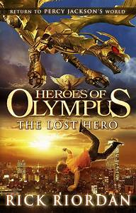Book Review Heroes Of Olympus The Lost Hero By Rick