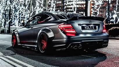 Amg Mercedes C63 Benz 1080p Gray Lights