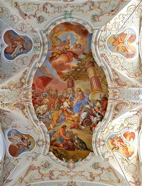 baroque ceiling  images baroque painting art