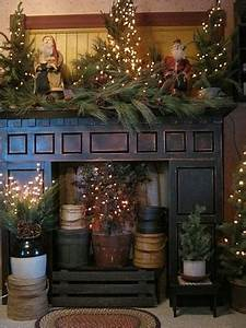 Pics For Primitive Country Christmas Decorations