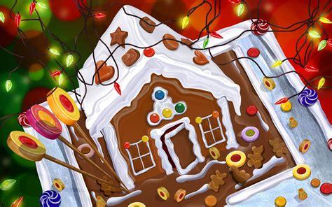 Wallpaper Gingerbread House by Gingerbread Wallpaper Wallpapersafari